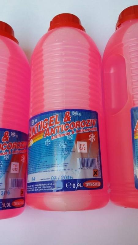 Antigel Concentrat Tip G12 Roz 1L